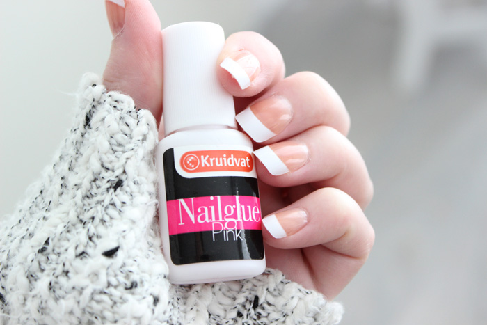 Fake-faux-nails-manicure-french-frenchies-long-healthy-strong-how ...
