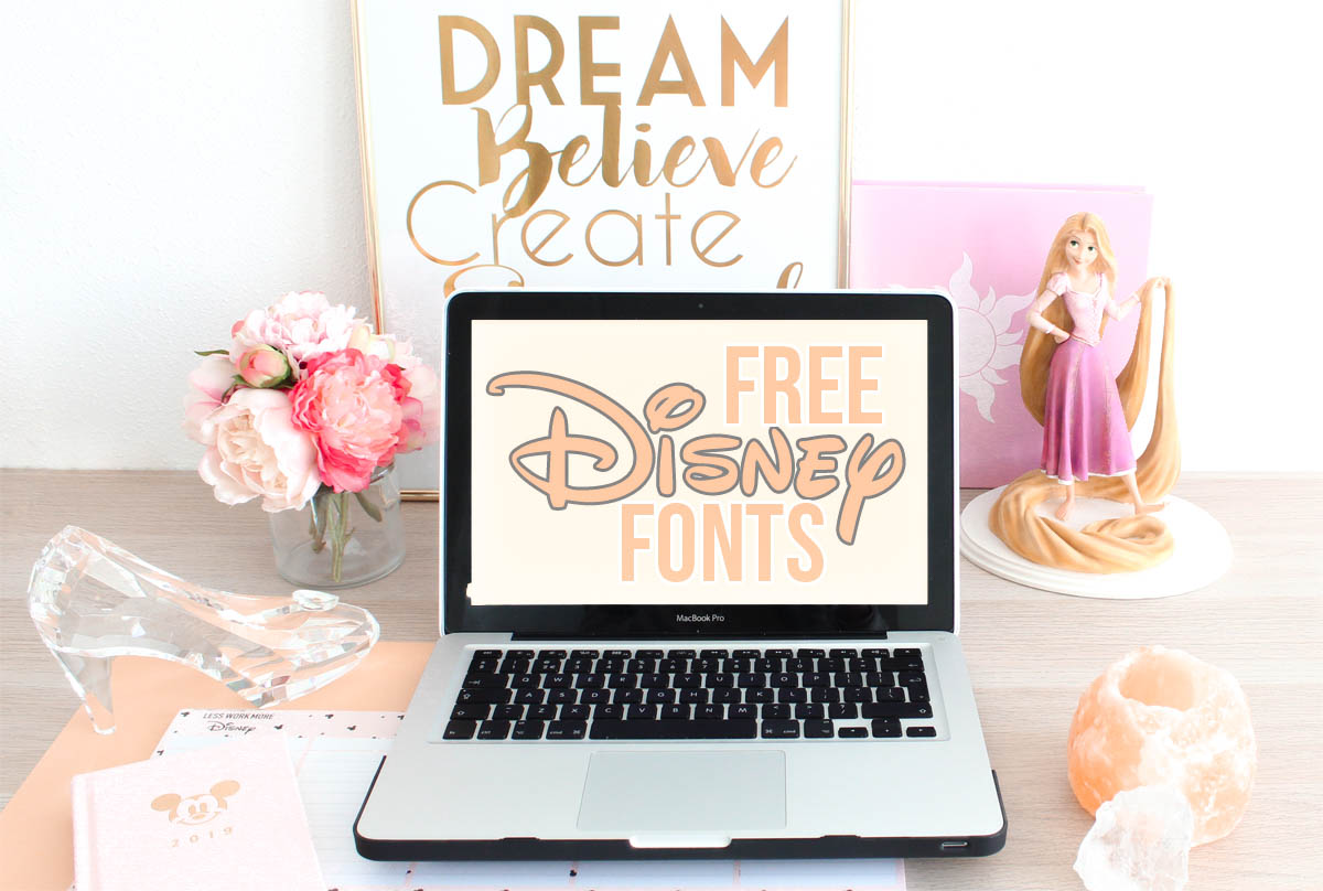The ULTIMATE List Of FREE Disney Fonts