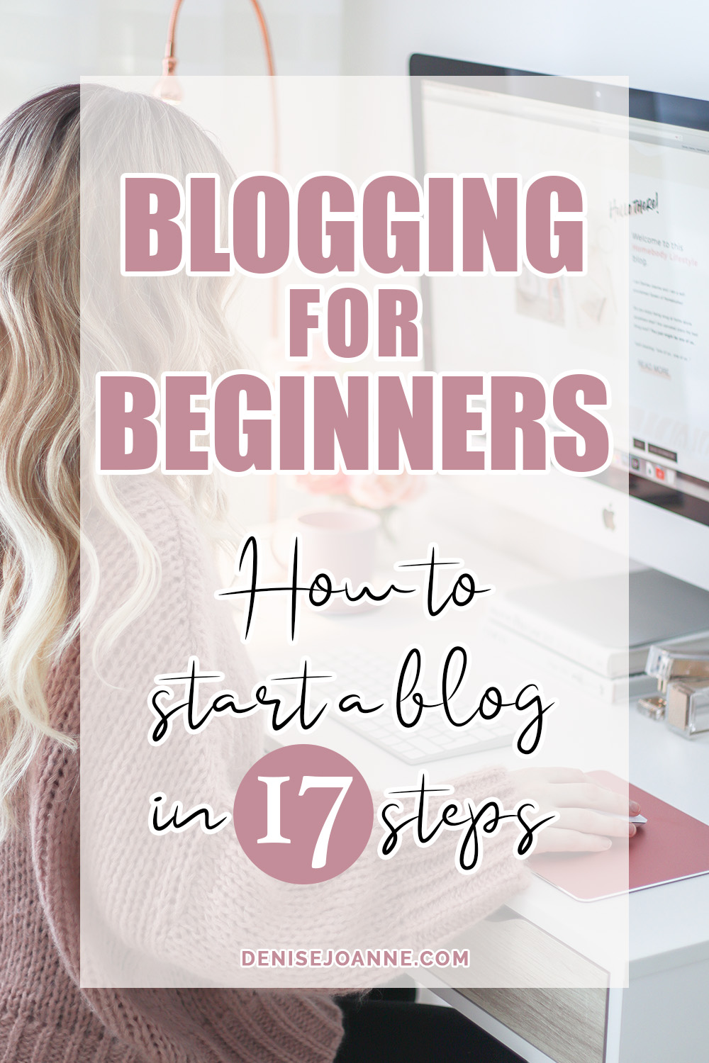 Blogging for Beginners Guide Pin