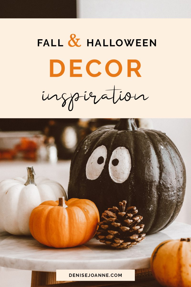 Fall and Halloween Decor, inspired by Harry Potter