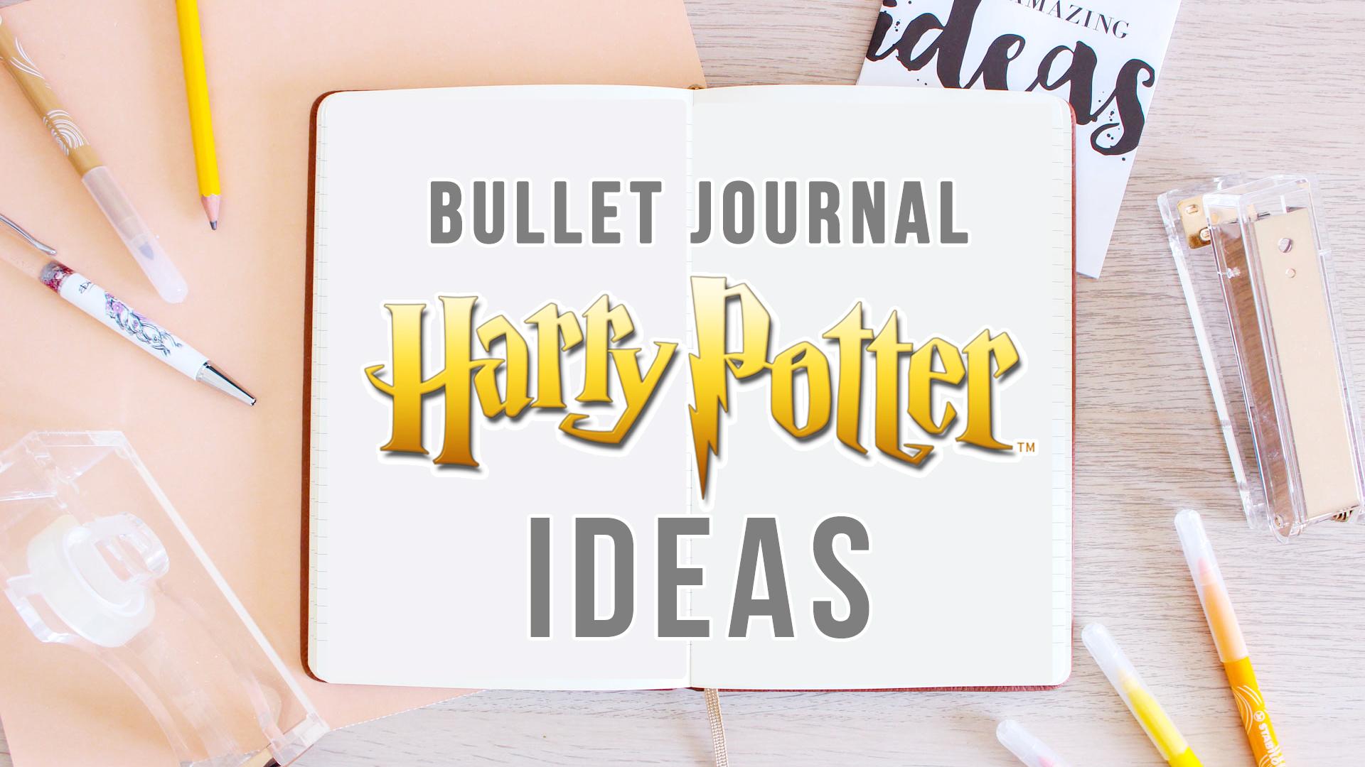 harry potter bullet journal ideas